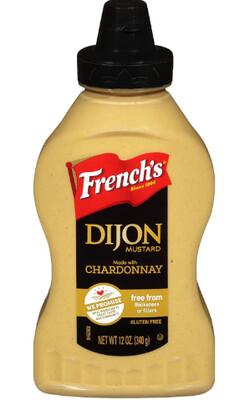 Mostaza Dijon Chardonnay French Squeeze 12 Onzas
