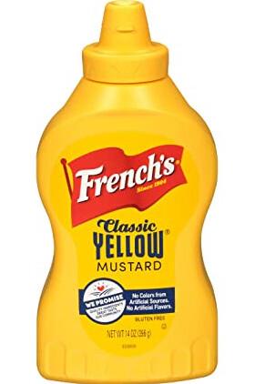 Mostaza Amarilla French Classic Squeeze 14 Onzas