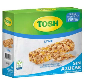Barra de Cereal Tosh Lyne 12 unidades de 32 Gramos