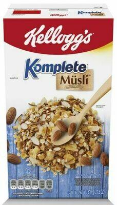 Kelloggs Cereal Komplete Almendra 610 Gramos