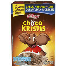 Kelloggs Cereal Choco Krispis, 620 g
