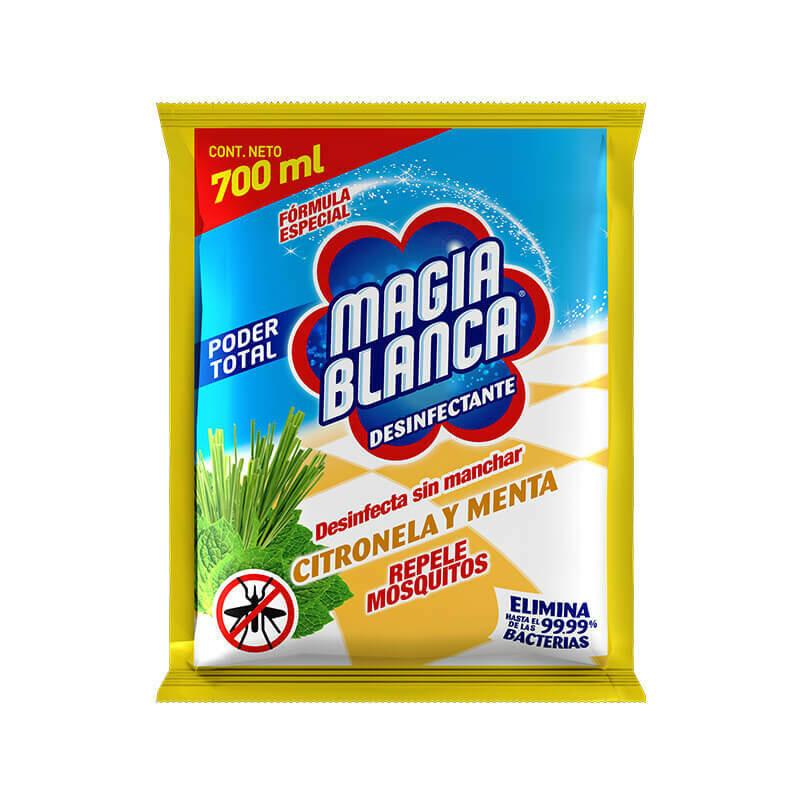 Desinfectante Magia Blanca Citronela/ Menta 700 ML