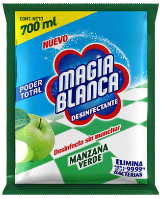 Desinfectante Magia Blanca Manzana 700 ML