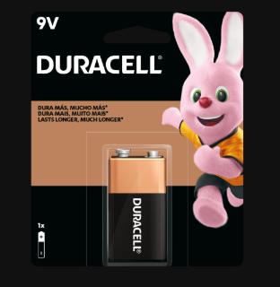 Duracell Bateria 9V - 1 Pila