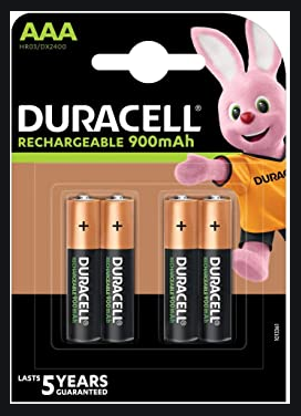 Duracell Bateria AAA -  4 Pilas