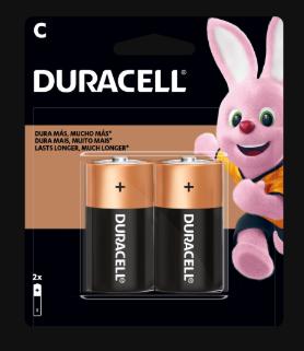 Duracell Bateria C - 2 Pilas