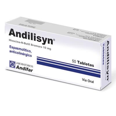 Andilisyn 10 mg Tabletas x 50