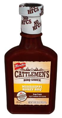 Salsa Barbacoa BBQ Mississippi Honey Cattlem 18 Onzas