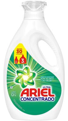 Detergente Liquido Ariel Concentrado 1200 ml