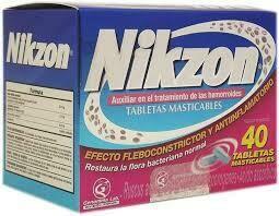 Nikzon 40 Tabletas Masticables