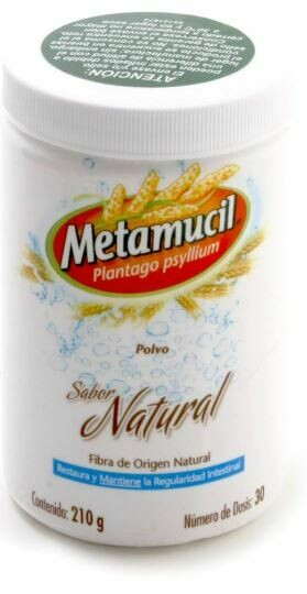 Metamucil Natural 210 gr