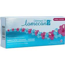 Lomecan V 2% Crema Vaginal 20g