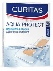 Hansaplast Curita Aqua Protect, 20 Unidades