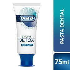 Pasta Dental Oral B Gum Detox Deep Clean, 75 ml