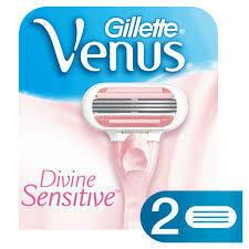Gillette Venus Divine Sensitive conti. 2 cartuchos