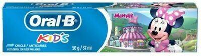 Pasta Dental Oral B Kids Minnie 37ml/50g