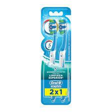 Oral B Cepillo Complete 5X Limpieza 2x1