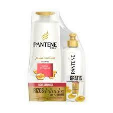 Pantene Nuevo Pack Shampoo Rizos Definidos 400 ml y Crema para peinar 160ml