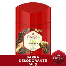 Old Spice Barra Desodorante Leña 50 gr