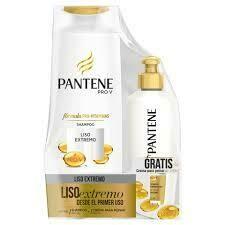 Pantene Nuevo Pack Shampoo Liso Extremo 400 ml y Crema para peinar 160ml