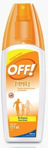 OFF! Repelente Spray Family, 177 ml