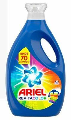 Detergente Liquido Ariel Revitacolor, 2800 ml
