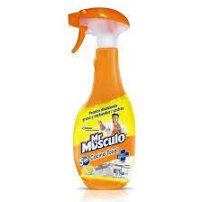 Mr Musculo Cocinas Limpiador Limon Trigger, 650 ml