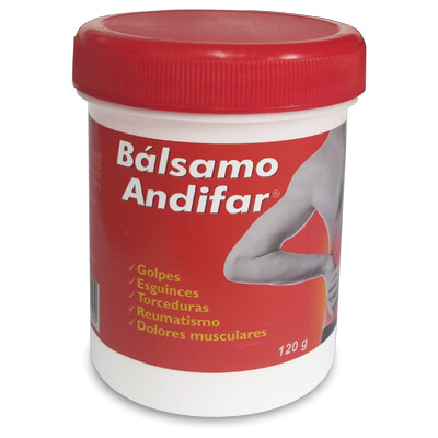 Balsamo Andifar Crema 120 gramos