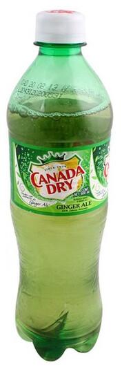 Canada Dry Ginger Ale Botella 0.5L