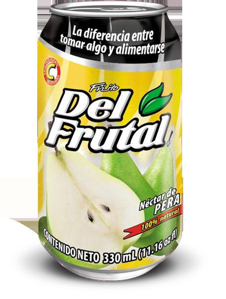 Friito Del Frutal sabor Pera Lata