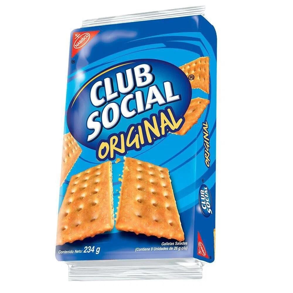 Galletas Club Social Original 9 unidades 26 Gramos
