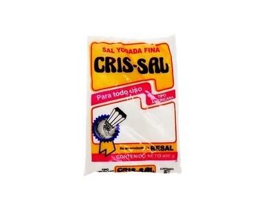 Sal Cris-Sal Yodada 400 Gramos