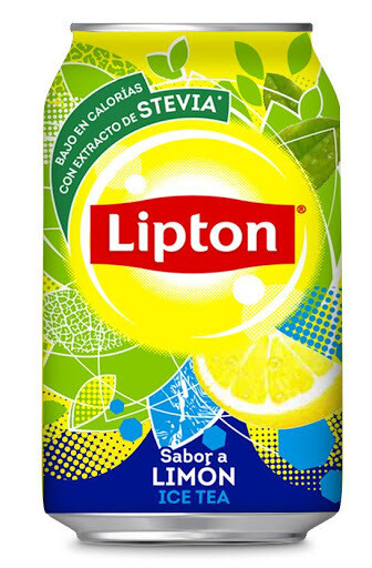 Te Lipton Lata 355 ml - Limon