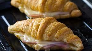 Croissant de Jamon y Queso (12 Unidades) Tamaño Boquita