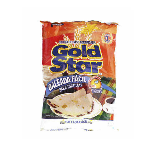Harina Gold Star Tortilla Facil  25 lbs (Arroba)