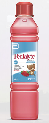 Pedialyte 2 Pack Fresa 45 MEQ, 500 ml