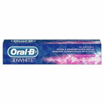 Pasta Dental Oral B 3D White 100g/75ml