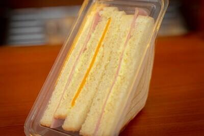 Sandwich de Jamon Y Queso (12 Unidades) Tamaño Boquita