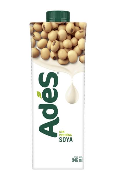 Leche de Soya Ades 946 ml
