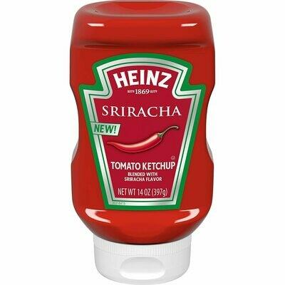 Salsa de Tomate Ketchup Heinz con Sabor Sirracha 14 onzas