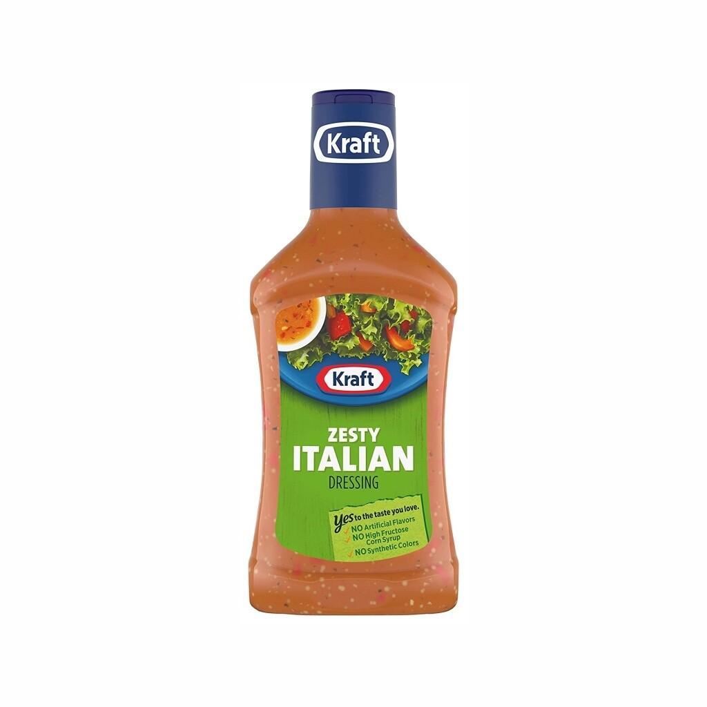 Aderezo Kraft Zesty Italian 16 onzas
