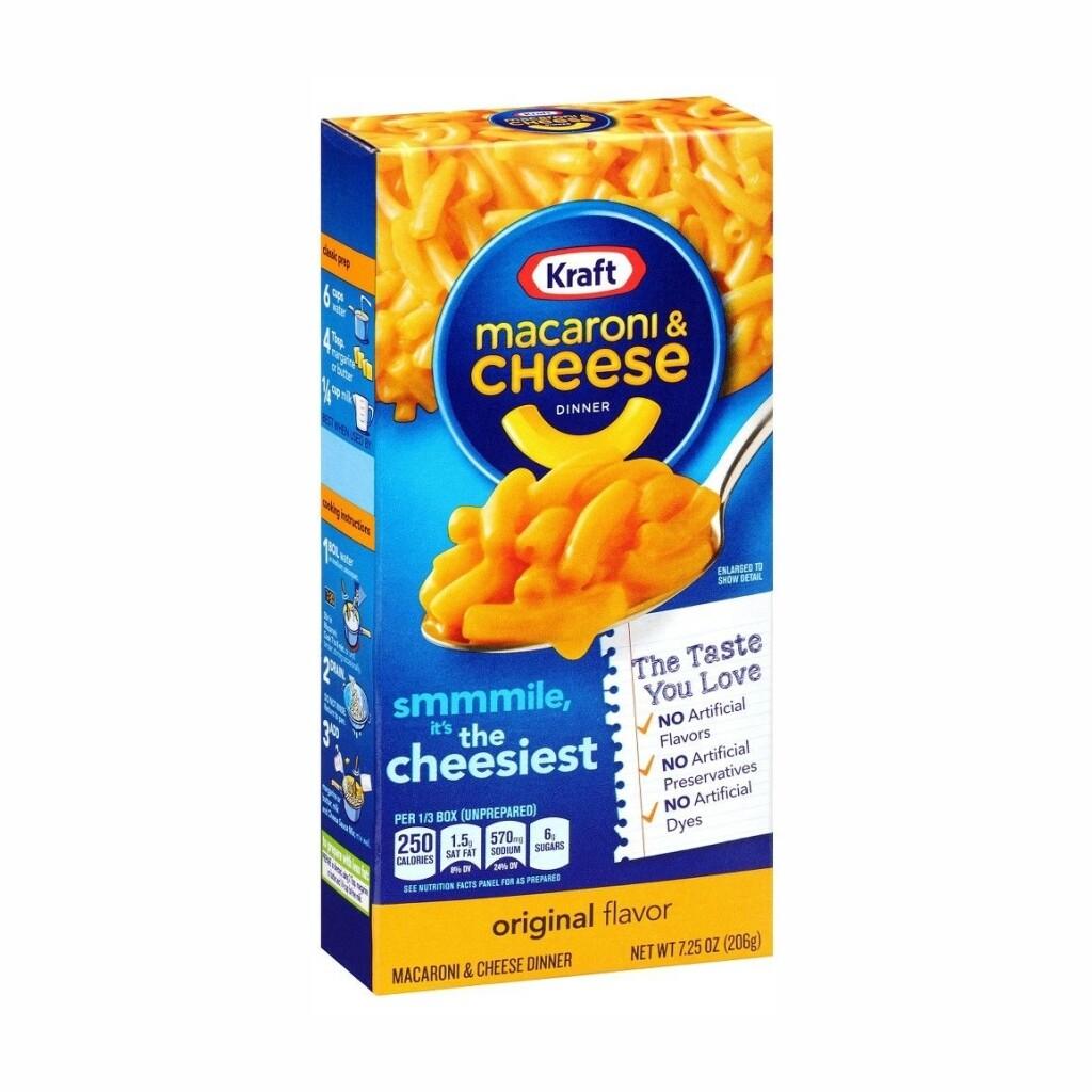 Macaroni & Cheese Kraft Sabor Original 7.25 onzas