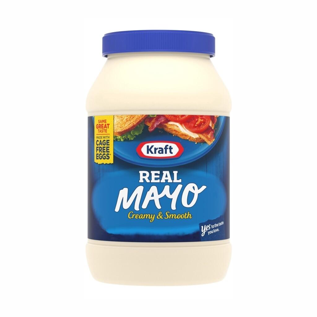 Mayonesa Kraft Real Mayo 30 onzas