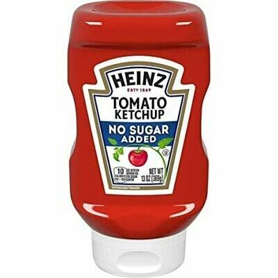 Salsa de Tomate Ketchup Sin Azucar Heinz 13 onzas
