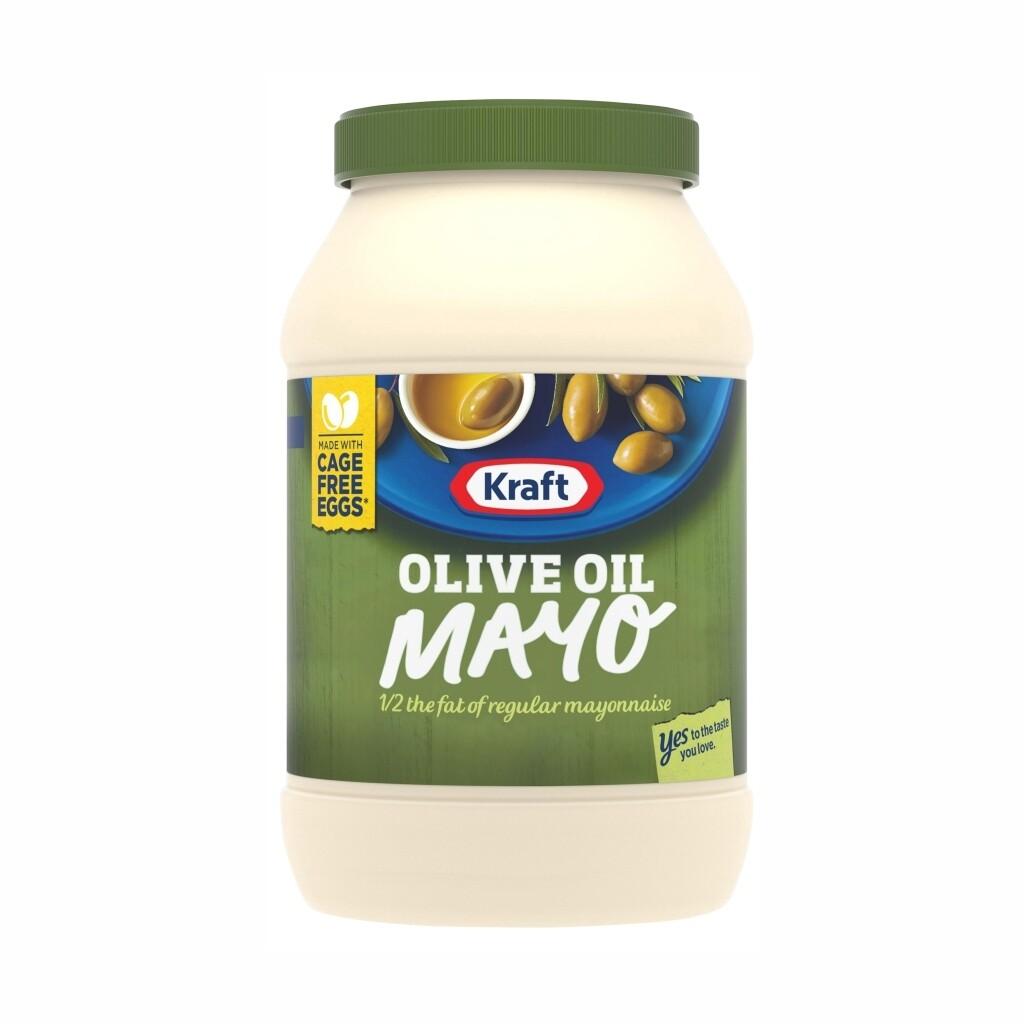 Mayonesa Kraft con Aceite de Oliva  30 onz. / 887 ml.