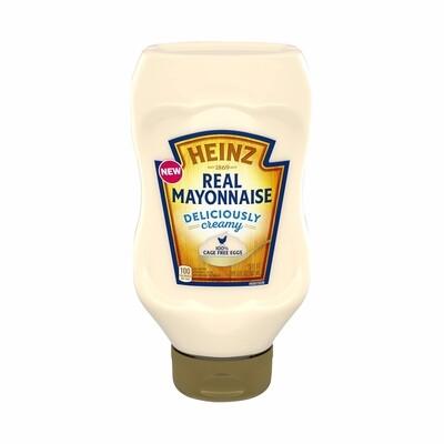 Mayonesa Heinz Real Mayonnaise Cage Free Eggs 19 onzas