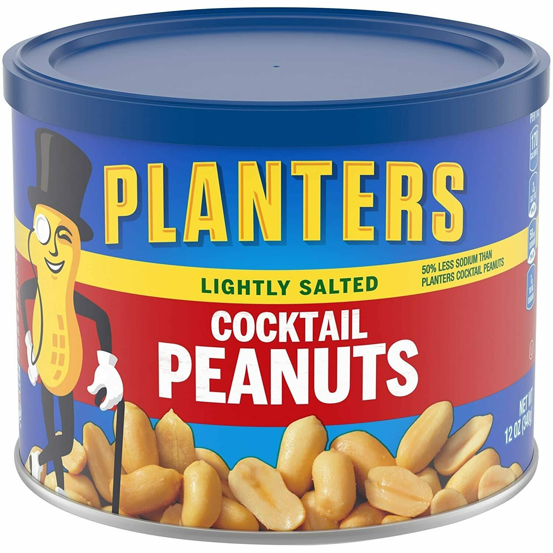 Mani Coctel (cacahuates) Planters (Cocktail Peanuts) 12 onzas