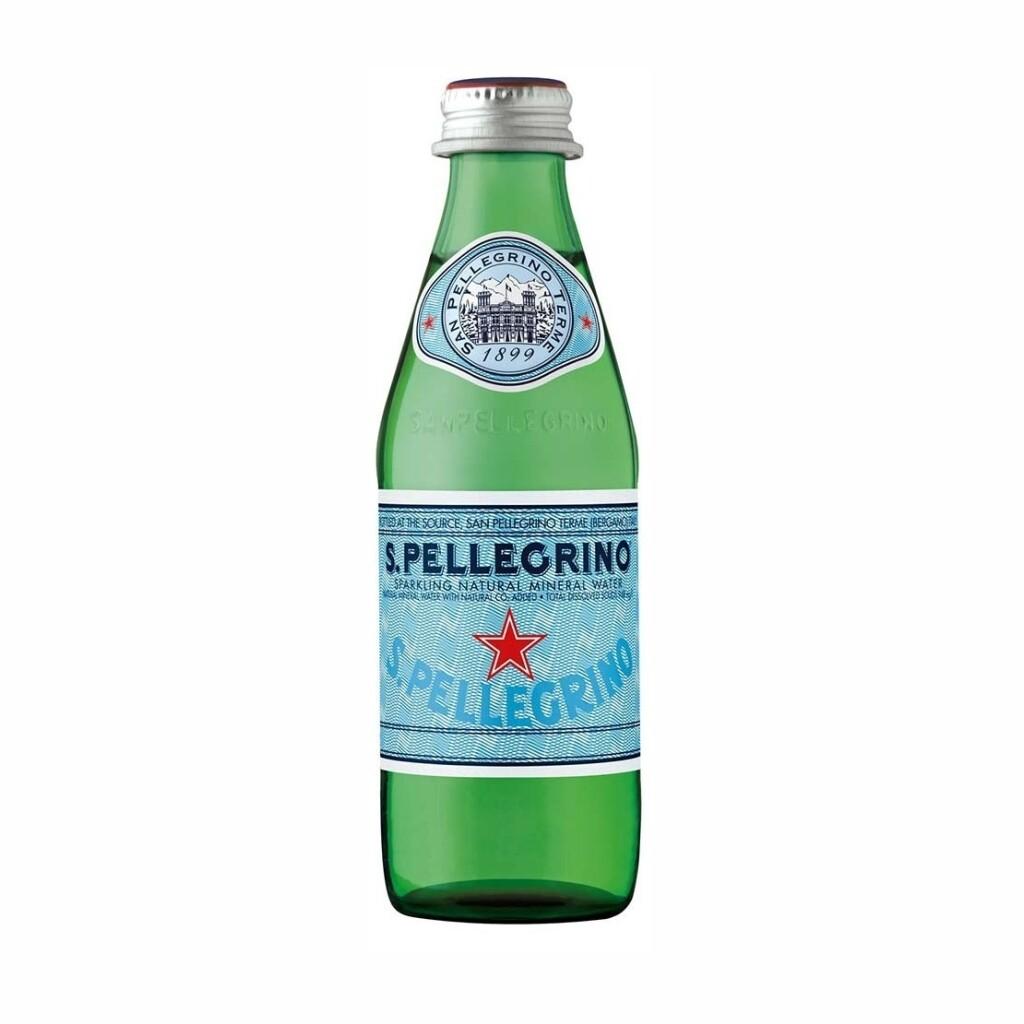 Agua San Pellegrino Botella Vidrio 250 ml