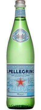 Agua San Pellegrino Diamonds Botella Vidrio 750 ml