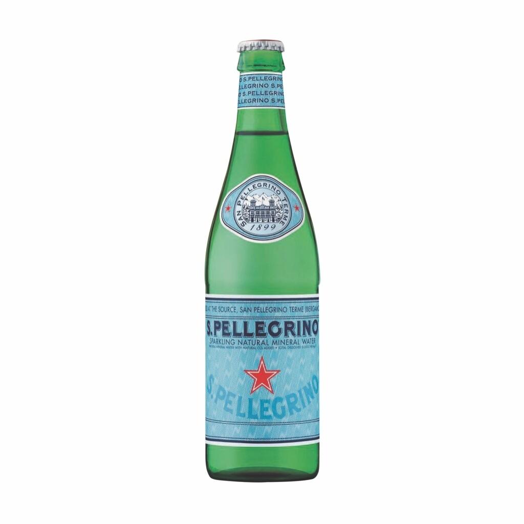 Agua San Pellegrino Botella Vidrio 505 ml